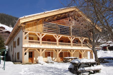 Chalet LE REPERE 3* in the heart of Grand Bornand - Chalupa