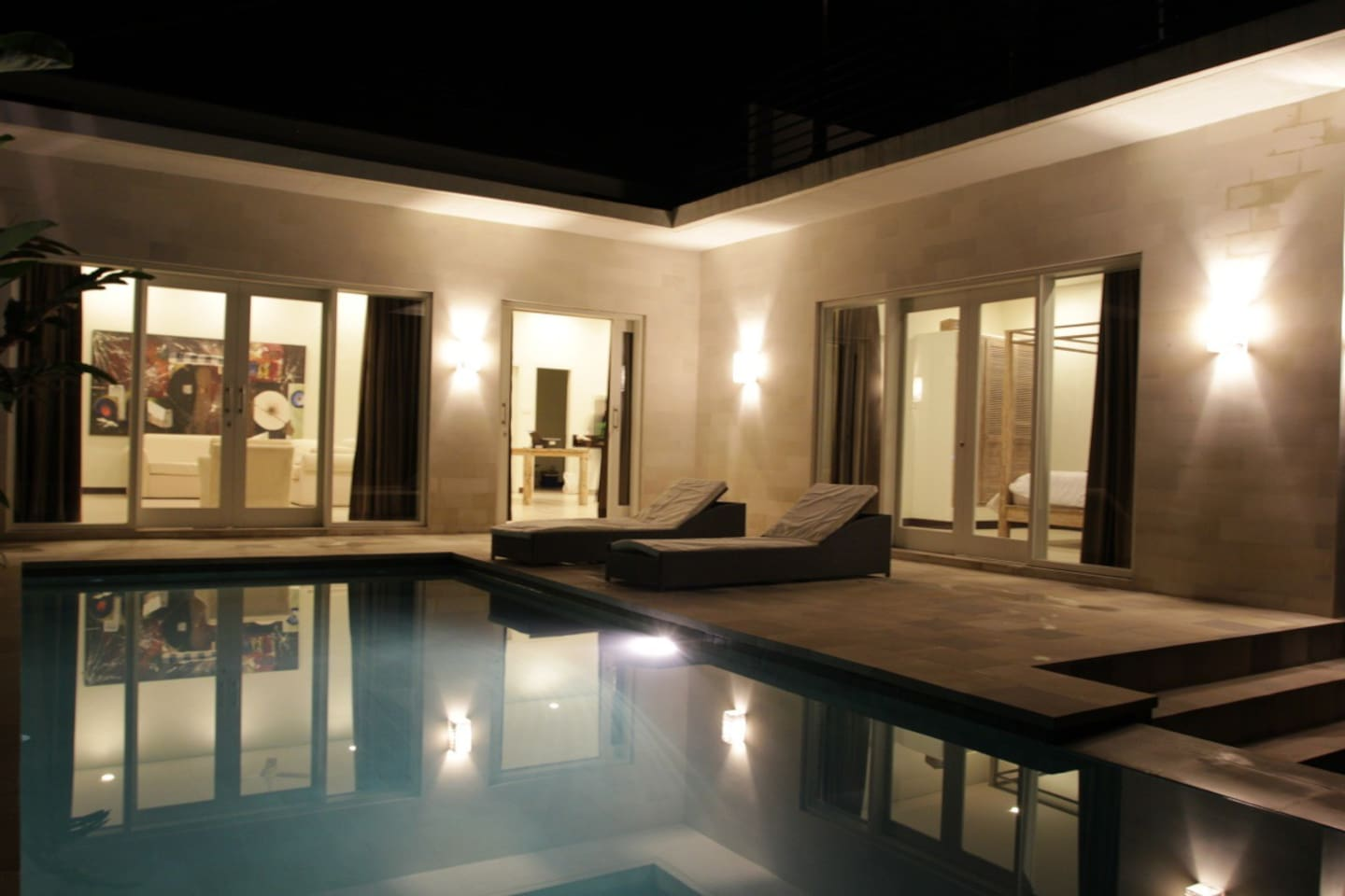 Terrace and private pool