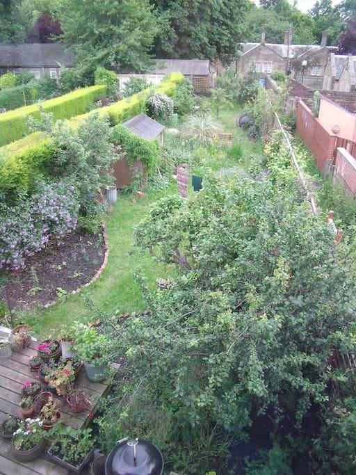 access to sunny garden