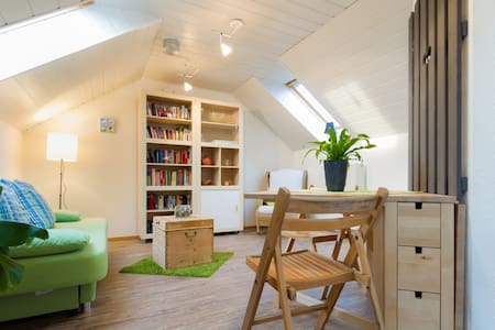 flat for guests in wooden house - Apartamento