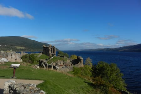 Twin-bedded Room, near Loch Ness  - Inverness - Гестхаус