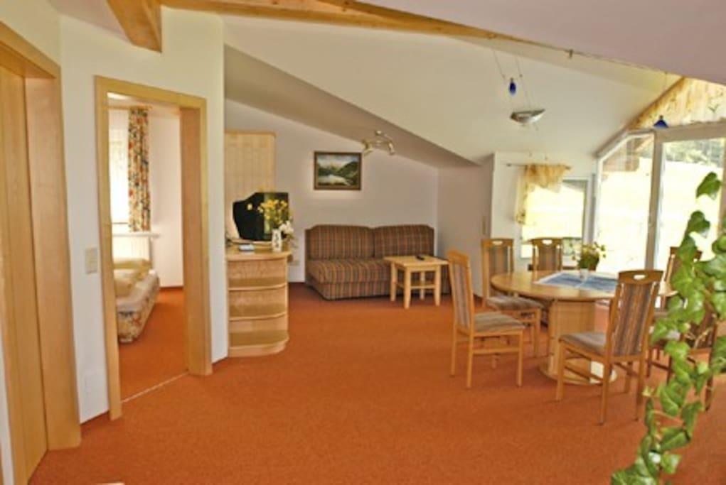 Bright living room!