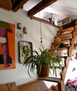 Split-Level Loft at Better Farm - Hus