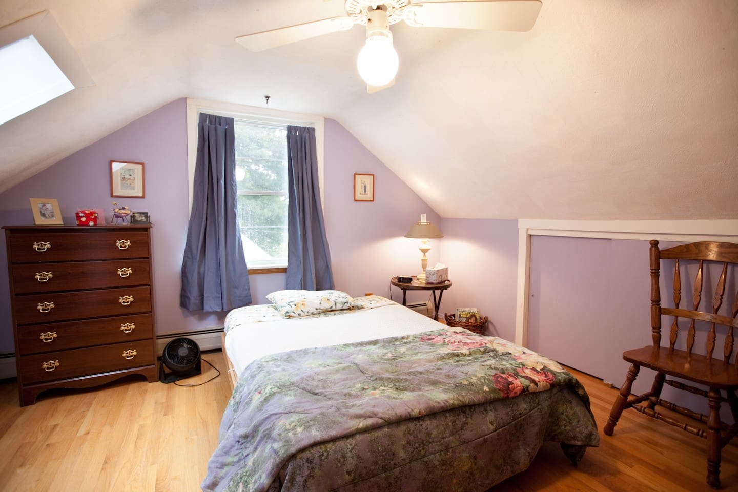 Guest bedroom (second bed not seen in this view).