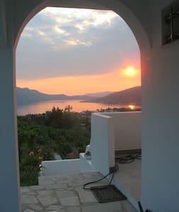 Euboea greece Village & mer Egée - Casa