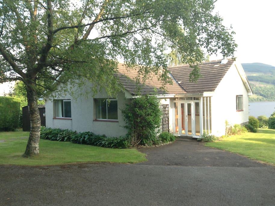 My Ben Rye - Loch Tay Cottage