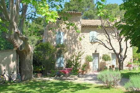 stone country house in the Luberon - Cheval-Blanc - Dům