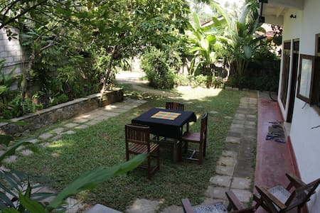 Typical Sri Lankan home -  Hikkaduw