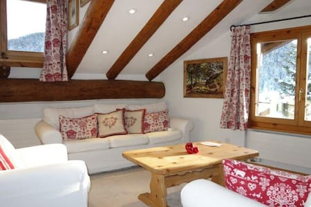 ST.MORITZ : COSY AND CHARMING ENGADINE !! - Apartment