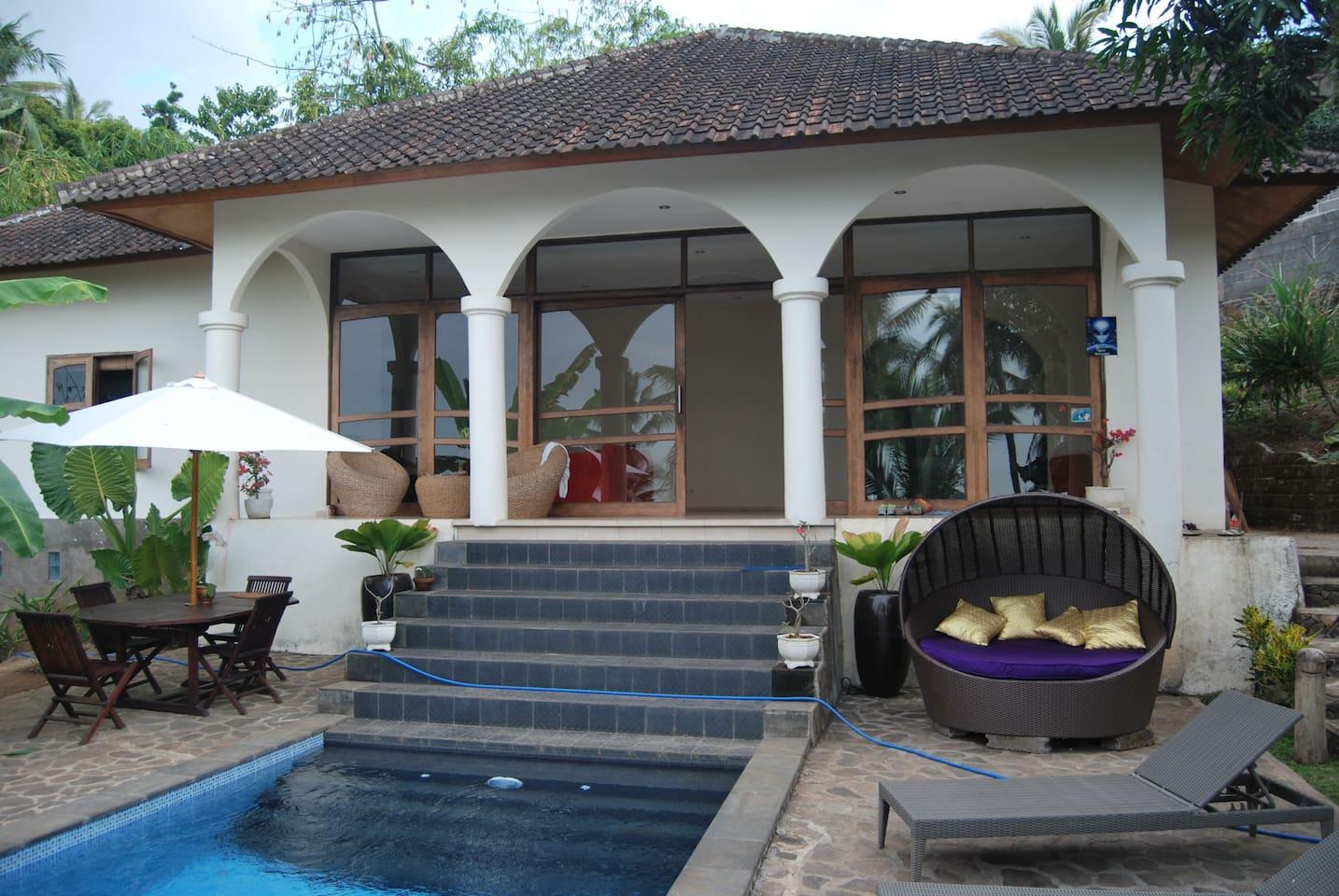 Villa in north bali