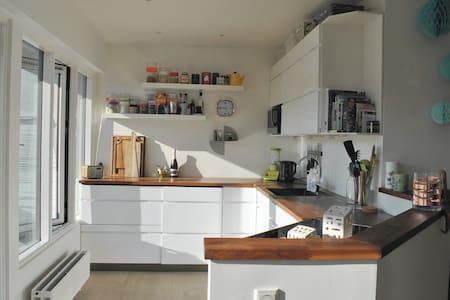 Cozy apartment just 30 minutes from Copenhagen - Lejlighed