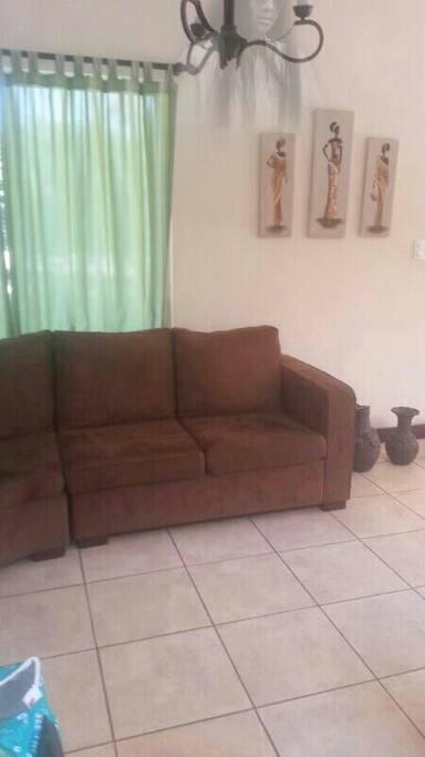 Sala muy cómoda