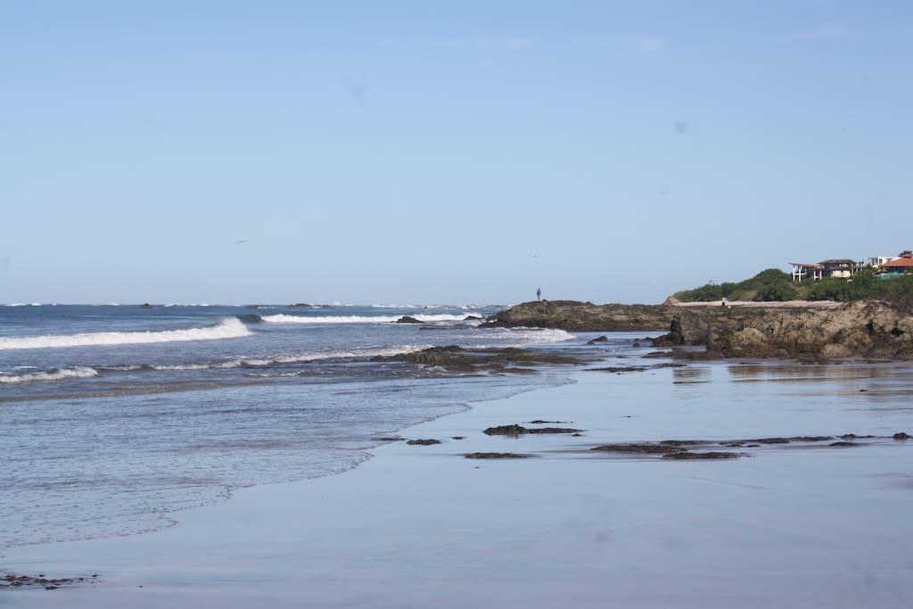 North beach view