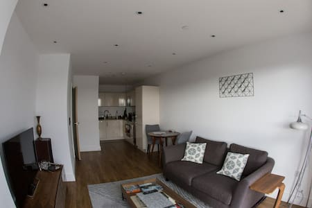 Modern 1bd apt with amazing views - Londres