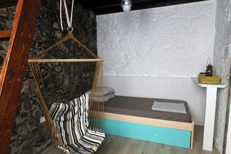 Private room in a 200-YO typical Canarian house - Agaete - Chambres d'hôtes