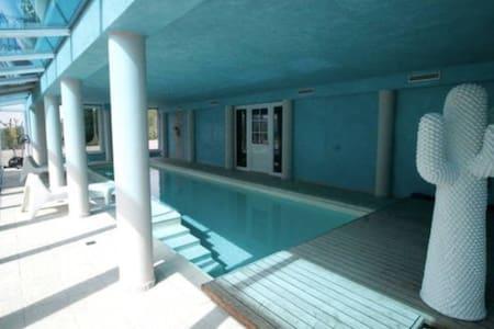 Relax nel verde con piscina - San Raffaele Cimena