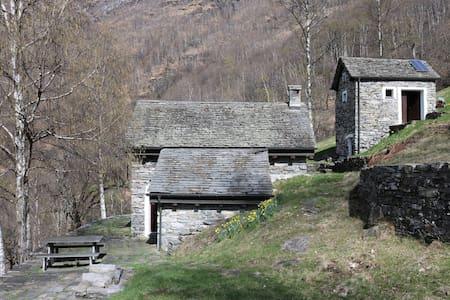 Rustico Valle Onsernone - Cavigliano - Lomamökki