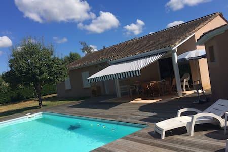chambre  proche centre Bergerac - piscine - Bergerac - Dom