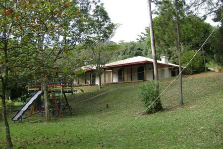 Chalés em São Roque,fazenda de natureza exuberante - São Roque