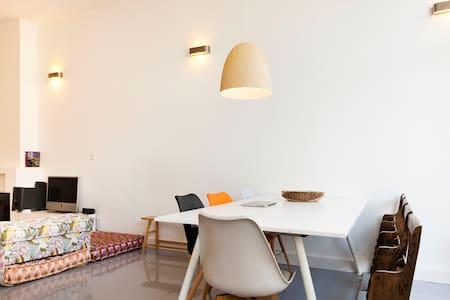 Big light loft + free bikes/garden! - Breda - House
