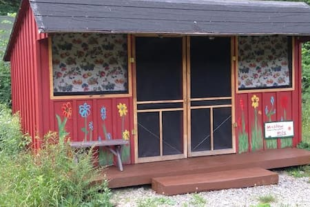 Rustic Camping Cabin on Hammond Hill - Freeville - Cabaña
