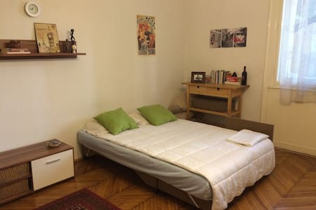 Spacious Private Room in Quiet Buda - Budapest - Apartment