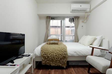 ◆Free WIFI◆Shinjuku 3mins! Comfy room!/ Samurai I1 - Shinjuku-ku - Lägenhet