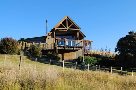 Beautiful lodge on Ruamahanga River - Haus