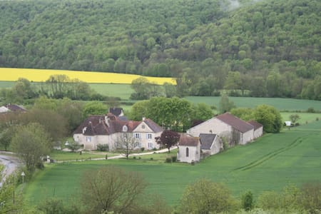 Sfeervol domein in de Champagne  - Rennepont - Bed & Breakfast