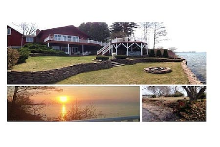 DREAM LAKE HOUSE on LAKE ONTARIO NY **GAMES ROOM** - Kendall - Casa