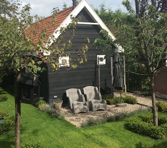 Charming cottage 5 min to center - Leida - Chalet