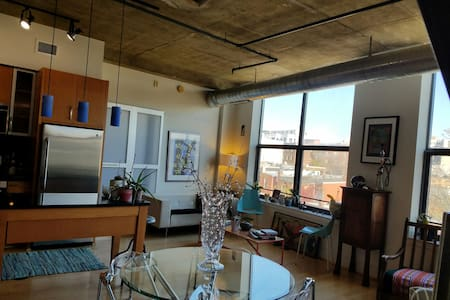 INAUGURATION Airy Adams Morgan Loft w/Capitol View - Washington