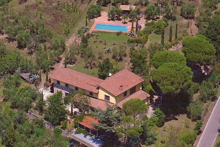 Apartment 1 Toscana,great view,pool,near Firenze - Larciano - Apartment