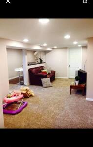 Private Room & Cozy living space - Fridley