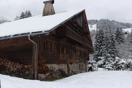 Semi-detached Chalet in Abondance 1100m altitude - Chalet