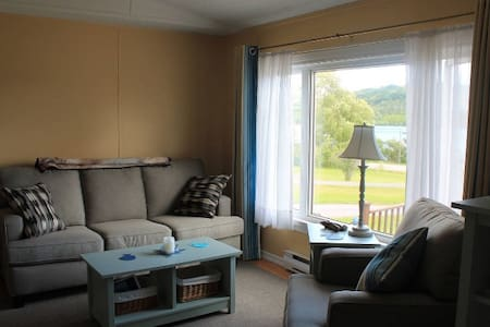 Bright cottage with sweeping Bras D'or Lake views - Baddeck - Kisház