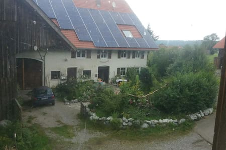 In idyllischer scheune übernachten - Aichstetten - House
