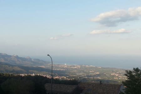 Vista panoramica su Taormina - Vena - Bed & Breakfast