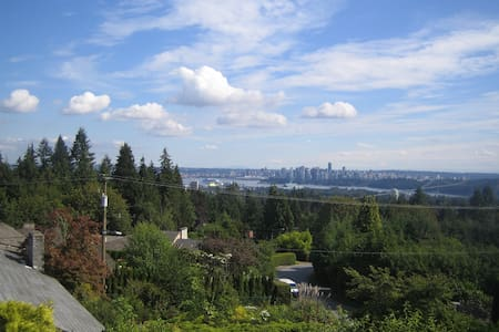 The Eagles Nest - Suite with a birds eye view - West Vancouver - House