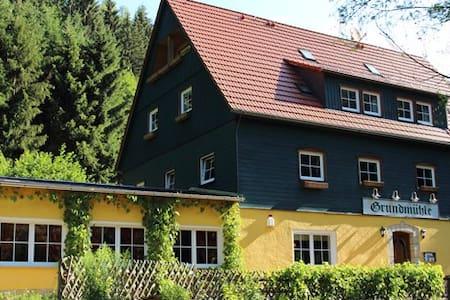 Grundmühle Hohnstein - Haus