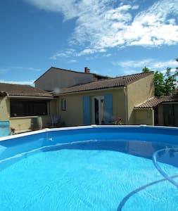 villa sans vis a vis proche Avignon piscine - House