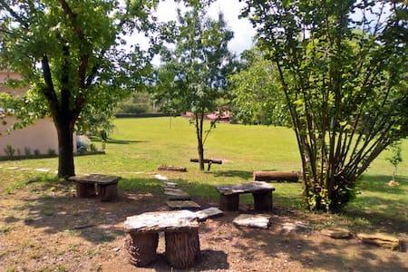Habitació triple al mig del parc natural Banyoles - House