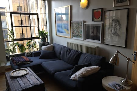 Spacious Dalston loft - London - Apartment
