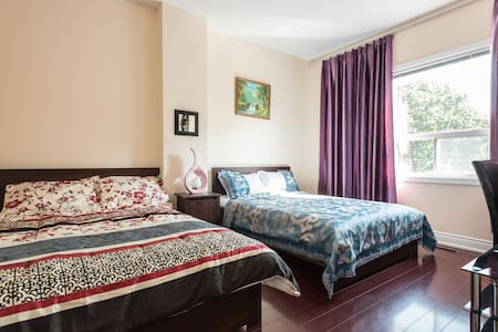 Downtown,Newly Renovated,2 Double size beds(Room5) - Ház