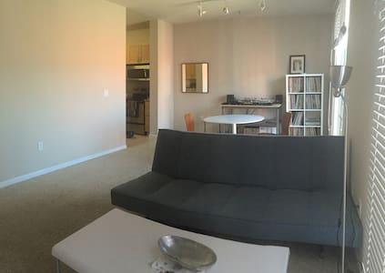 Living Room - Emeryville - Apartment