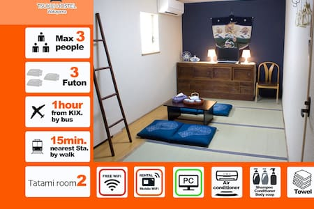 Big sale【Tatami Room2】TSUKIJI Free WiFi cheapest - House
