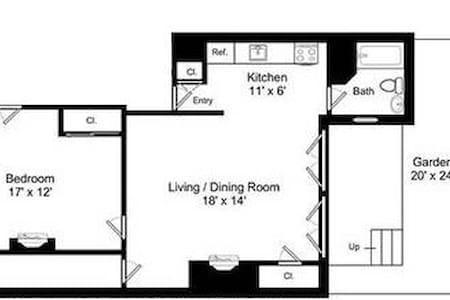 Beacon Hill Gem! Spacious One Bedroom - Boston - Appartamento