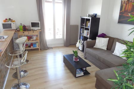 Charmant appartement - 35 m2 + Tour Eiffel view :) - Appartement