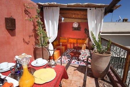 Chambre double avec petit déjeuner - Marrakesh - Bed & Breakfast