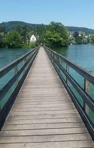 Ruhe+Entspannung am Rhein /Bodensee - Eschenz
